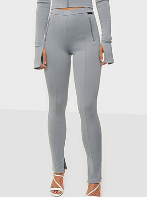 Nicki Studios Heavy Ribbed Split Leggings