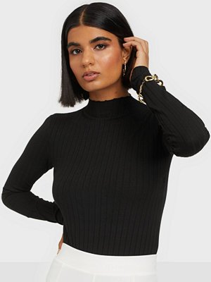 NLY Trend Ribbed Polo Top