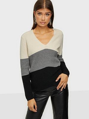 Calvin Klein Ls Color Block Sweater