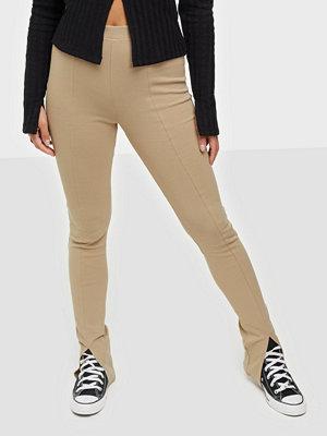Leggings & tights - NLY Trend Front Slit Leggings