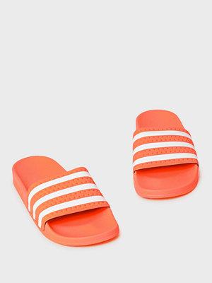 Tofflor - Adidas Originals Adilette W Orange