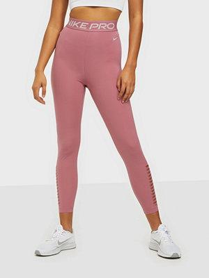 Sportkläder - Nike W Np Tight 7/8 Hi-Rise PP1 M V Berry