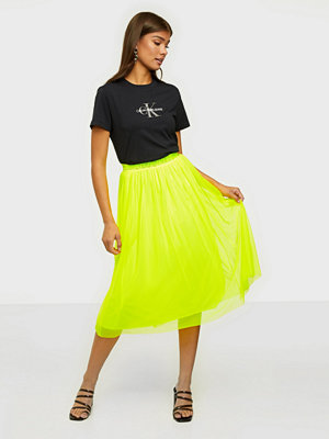Calvin Klein Jeans Double Layer Mesh Skirt