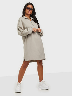 NLY Trend Front Zip Sweat Dress