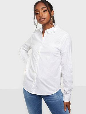 Skjortor - Pieces Pcirena Ls Oxford Shirt Noos Bc