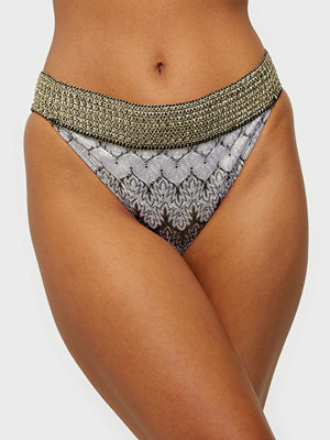 River Island Plain Crochet Foil Side Brief