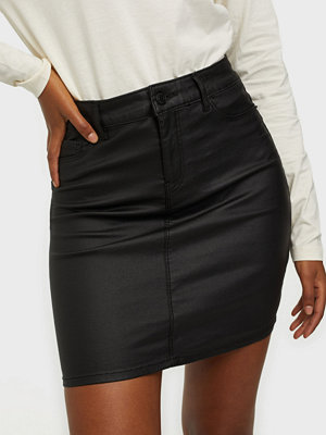 Vero Moda VMSEVEN MR SHORT COATED SKIRT NOOS