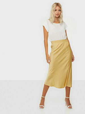 Calvin Klein Elasticated Bias Cut Midi Skirt