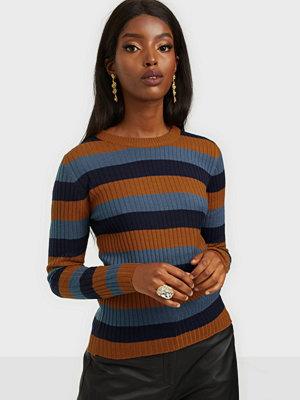 Jacqueline de Yong Jdysloan L/S Stripe Pullover Knt