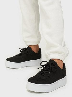 NLY Shoes Flirty Platform Sneaker Svart
