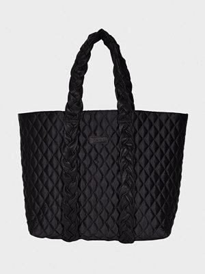 Handväskor - NuNoo Shopper w. braiding strap quilt