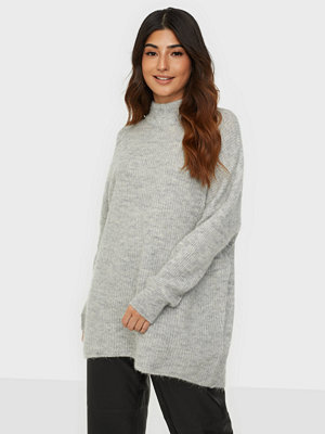 Selected Femme Slflulu Enica Ls Knit O-Neck Noos