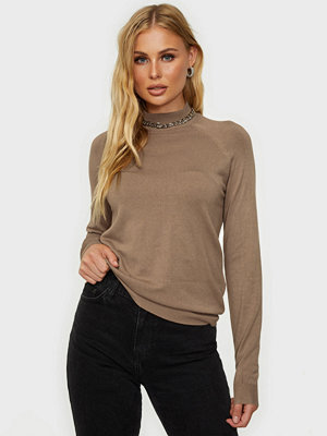 Pieces Pcesera Ls High Neck Knit Noos