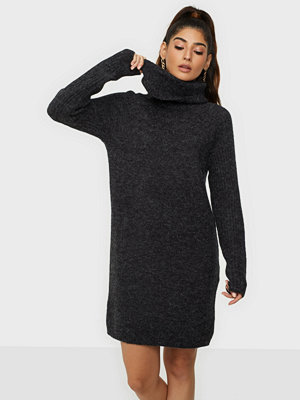 Object Collectors Item Objnonsia Rib L/S Rollneck Dress Re