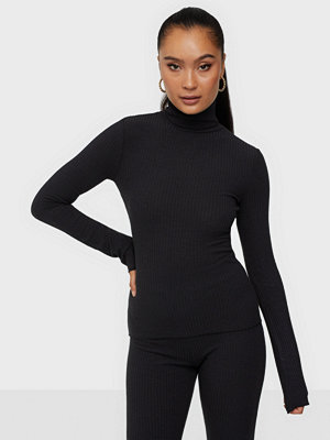 NLY Trend Chunky Rib Polo Top