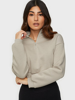 NLY Trend Cropped Zip Sweat