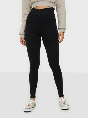 Leggings & tights - NLY Trend Wrap Waist Leggings