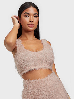 NLY One Fluffy Crop Top
