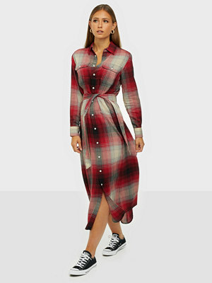 Polo Ralph Lauren Plaid Long Sleeve Dress