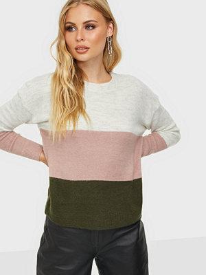 Jacqueline de Yong Jdyelanora L/S Stripe Pullover Knt