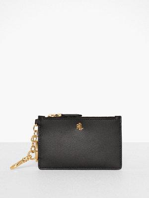 Plånböcker - Lauren Ralph Lauren Super Smooth Leathr-Zip Card Cas-Ccs-Med