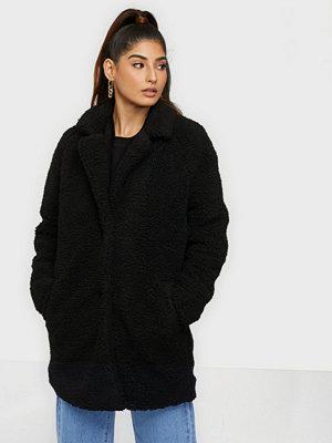 Fuskpälsjackor - Only Onlaurelia Sherpa Coat Otw
