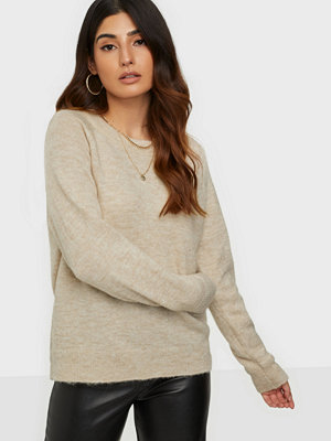 Selected Femme Slflulu Ls Knit O-Neck Noos Birch