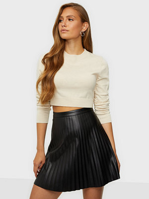 Jacqueline de Yong Jdytwix Pleat Faux Leather Skirt Ot