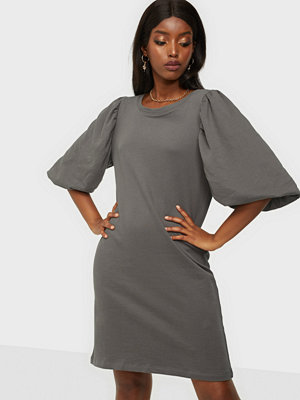Only Onlgia S/S Puff Sweat Dress Swt