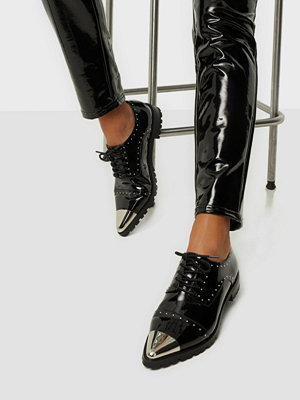 Tygskor & lågskor - NLY Shoes Studded Derby Shoe
