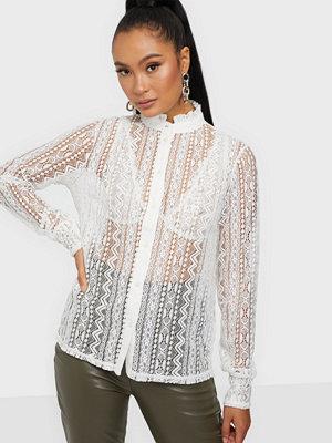 Vila Vijenna L/S Lace Shirt