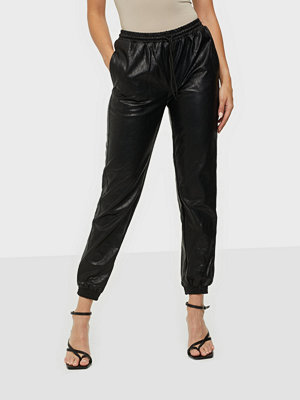 Glamorous svarta byxor PU Pants