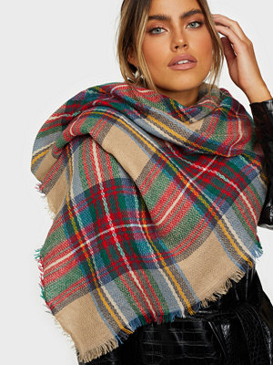 NLY Accessories Soft Check Scarf