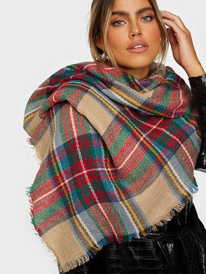 Halsdukar & scarves - NLY Accessories Soft Check Scarf