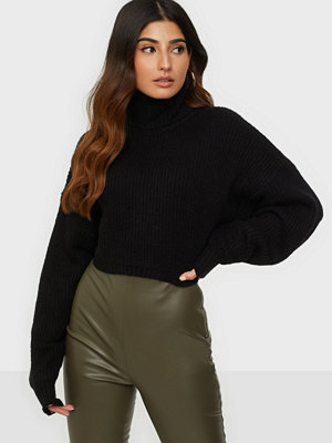 Missguided Roll Neck Crop Jumper