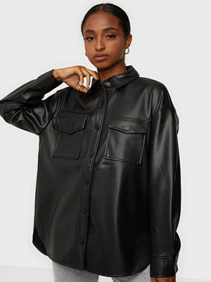Only ONLBRYLEE-DIONNE FAUX LEATHER SHIRT