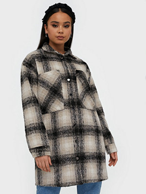 Skjortor - co'couture Kelly Wool Check Shirt