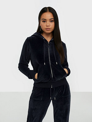 Juicy Couture Robertson Classic Velour Zip Trough Hoodie