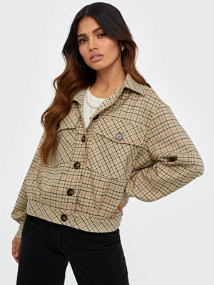 co'couture New Rosalie Check Jacket