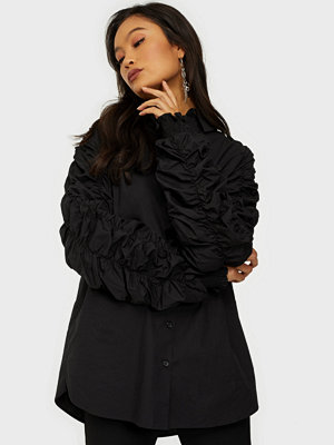 NLY Trend Ruche Sleeve Shirt