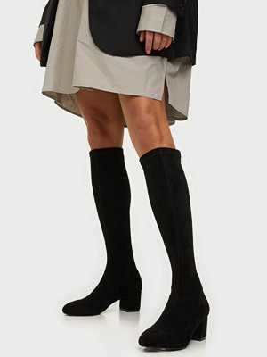 Boots & kängor - NLY Shoes Under Knee Sock Boot