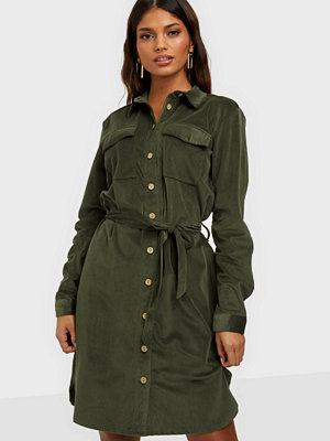 Jacqueline de Yong JDYSOFI L/S CORDUROY SHIRT DRESS JR