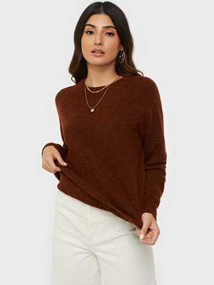 Selected Femme SLFLULU LS KNIT O-NECK B NOOS