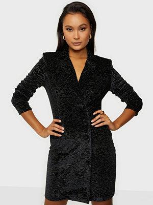NLY Trend Button Down Velvet Dress