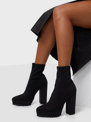 NLY Shoes High Heel Neoprene Boot