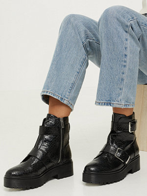 NLY Shoes Buckle Chunky Boot
