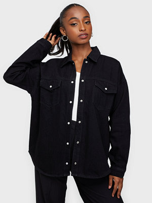 Selected Femme SLFALLY LS BLACK DENIM SHIRT W