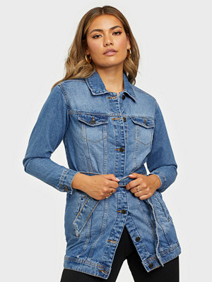 Jacqueline de Yong JDYTUBA LIFE LONG DENIM JACKET MB D