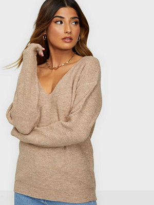 Pieces PCBABETT LS V-NECK KNIT NOOS BC