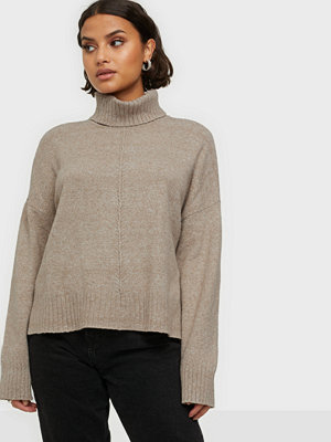 Tröjor - Noisy May NMIAN L/S ROLL NECK KNIT NOOS
